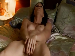 Milf Rubs Her Pussy To Tremendous Orgasms