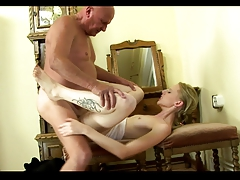Grandpa Fuck His Young Girlfriend Creampie Part Ii