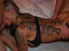 Real German Hot Wife Gangbang In Hotel Room Very Hot Part 2