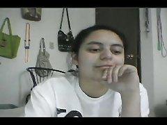 Sweet Naked Girl On Webcam