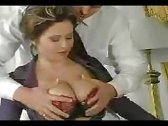 Secretarial Jugs!! Hot Fucking Actions