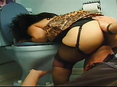 Little Squirt In Bathroom