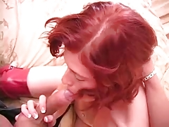 Gorgeous Redhead Milf Loves Dick F70