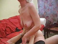 Granny Inga With Saggy Tits Gets Fucked