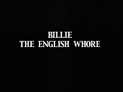 Billie Britt The English Whore
