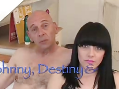 Destiny Bristol Angel Squirts & Johnny Rockard