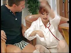 Redhead Nurse