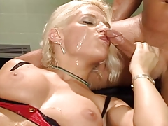 Blonde German Lady Fucked By Two Doctors Bostero