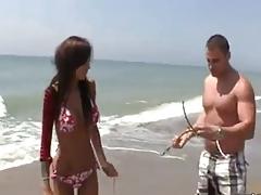 Sexo Playa!!! Fayna Vergara
