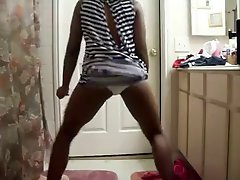 Black Girl Dancing In Dress