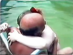 Older Couple Having Sex In The Pool Part 2 Wear Tweed
