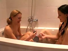 Dutch Lesbians Having Fun Part 1