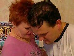 Older Mom & Adult Boy #4