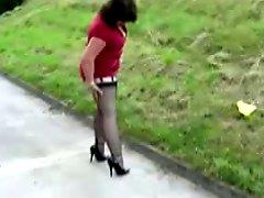 Mature Walking In High Heels