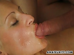 Busty Amateur Teen Gf Sucks And Fucks With Facial