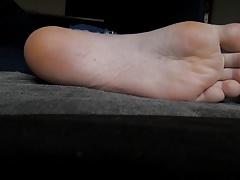 Worshiping Girlfriend's Feet 9