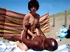 Wife Getting Fucked On Beach 1 Ben