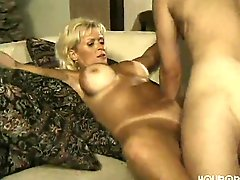 Mature Wife Pampers Her Younger Husband
