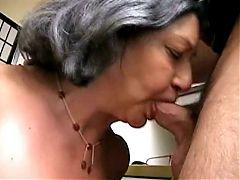 Horny Big Tit Granny