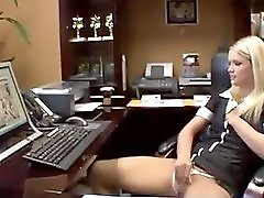 Caught Masturbating At Work