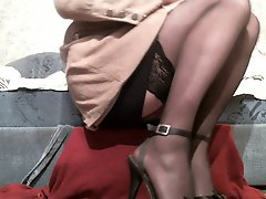 Squirting Moments Office Slut Evelina