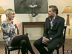 Louise Minchin Mini Dress And Black Tights!!
