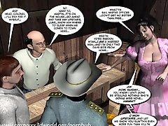 3d Comic Six Gun Sisters Episode 1