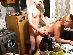 Busty Country Mature Mom Hard Fuck On Kitchen Homemade