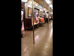 Nyc Subway Streaker