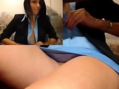 Teen Caught At Work
