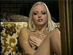 Blonde Girl In Pantyhose