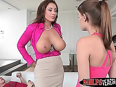 Naughty Eva Notty Teaches Teens A Lesson