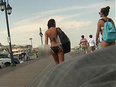 2 Bikini Teens Goin Home Graz 30