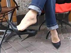 Dangling High Heels