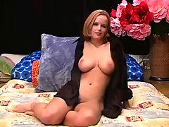 Pretty Blonde Giving Blowjob