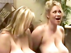 Giant Breasts Bbw Sucks Her Big Tits