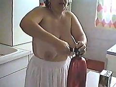 Big Boobs Mature Gigi House Cleaning