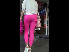 Lady Good Body On The Street