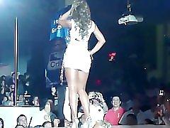 Upskirt On Stage