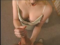 Blonde Amateur Handjob