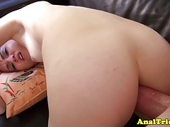 Chloe Foster Gets Cumshot Over Her Back