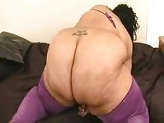 Ssbbw Farrah Foxxx Masturbates