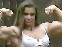 Sexy Fbb Flexing Her Muscles Classic