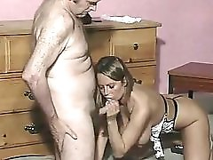 Old Guy Fucks British Busty Slut Alexis May And Gives A