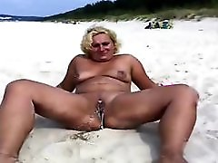 Nakedpussy At Beach 2