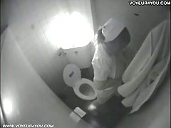 Toilet Masturbation Secretly Captured By Spycam