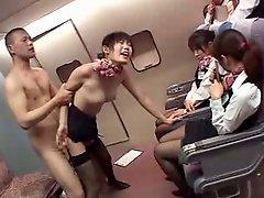 Japanase Stocking Air Hostess Husami