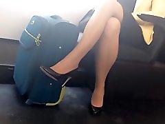 Pantyhose In Public