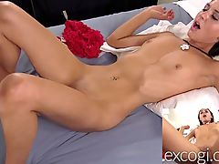 Petite Jen Fucked And Facialed On Excogi