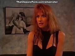 Leena Asia Carrera Tom Byron In Vintage Sex Scene